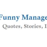 Manager Cracks a Joke