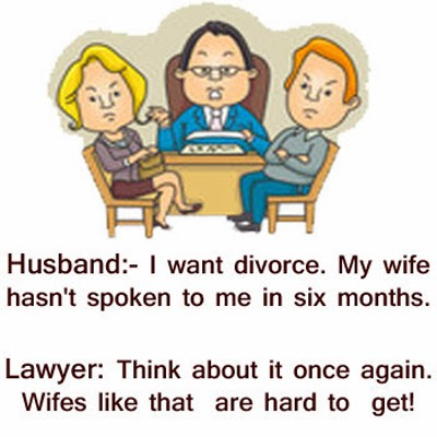 Husband and Wife Not Talking and husband Went to a Lawyer