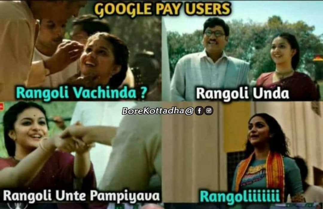 google rangoli stamp meme funny images